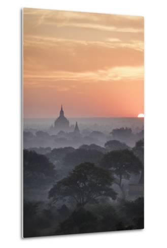 Bagan, Myanmar (Burma), Southeast Asia-Janette Hill-Metal Print