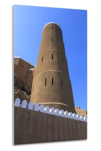 Tower of Al-Mirani Fort, Old Muscat, Oman, Middle East-Eleanor Scriven-Metal Print
