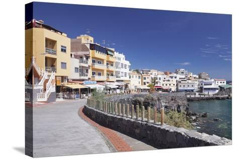 Promenade at the Port, Los Abrigos, Tenerife, Canary Islands, Spain, Atlantic, Europe-Markus Lange-Stretched Canvas Print