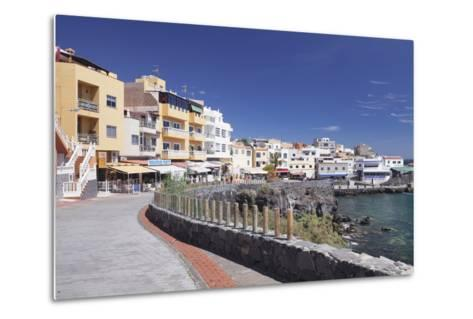 Promenade at the Port, Los Abrigos, Tenerife, Canary Islands, Spain, Atlantic, Europe-Markus Lange-Metal Print