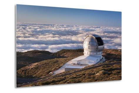 Observatory Gran Telescopio Canarias, Parque Nacional De La Caldera De Taburiente, Canary Islands-Markus Lange-Metal Print