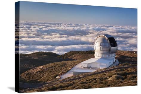 Observatory Gran Telescopio Canarias, Parque Nacional De La Caldera De Taburiente, Canary Islands-Markus Lange-Stretched Canvas Print