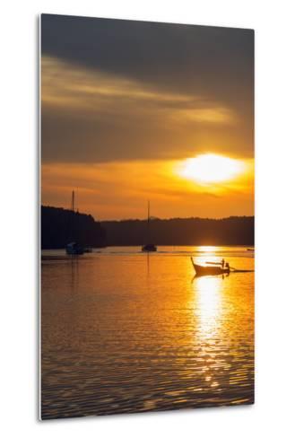 Krabi Estuary Sunrise, Krabi, Thailand, Southeast Asia, Asia-Christian Kober-Metal Print