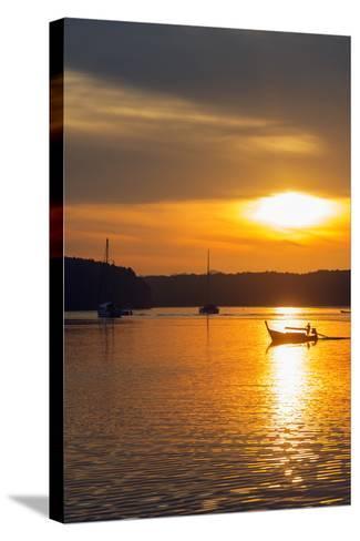 Krabi Estuary Sunrise, Krabi, Thailand, Southeast Asia, Asia-Christian Kober-Stretched Canvas Print