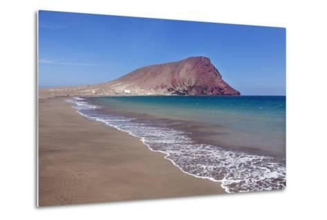 La Montana Roja Rock and Playa De La Tejita Beach, Spain-Markus Lange-Metal Print
