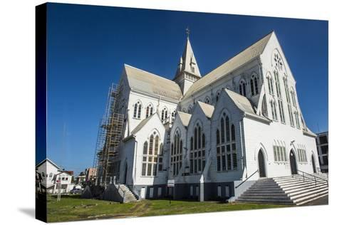 St. George's Cathedral, One of the Largest Wooden Churches in the World, Georgetown, Guyana-Michael Runkel-Stretched Canvas Print