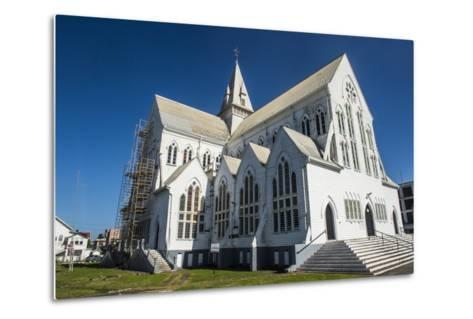St. George's Cathedral, One of the Largest Wooden Churches in the World, Georgetown, Guyana-Michael Runkel-Metal Print