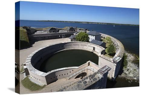 Kungsholms Fort, Karlskrona, Blekinge, South Sweden, Sweden, Scandinavia, Europe-Stuart Black-Stretched Canvas Print