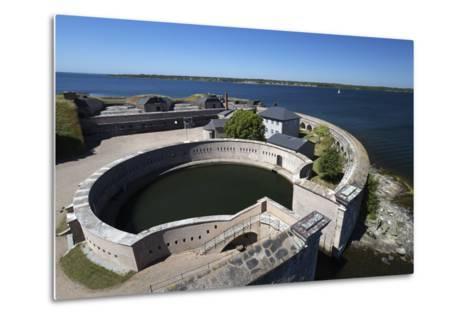 Kungsholms Fort, Karlskrona, Blekinge, South Sweden, Sweden, Scandinavia, Europe-Stuart Black-Metal Print