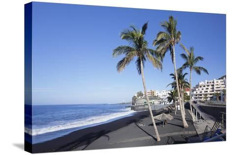Beach of Puerto Naos, La Palma, Canary Islands, Spain, Atlantic, Europe-Markus Lange-Stretched Canvas Print