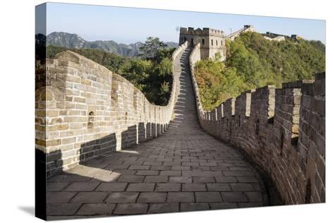 Mutianyu, Great Wall of China, UNESCO World Heritage Site, Mutianyu, China, Asia-Janette Hill-Stretched Canvas Print