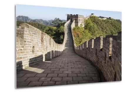 Mutianyu, Great Wall of China, UNESCO World Heritage Site, Mutianyu, China, Asia-Janette Hill-Metal Print