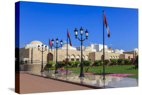 Polished Pavements, Old Muscat-Eleanor Scriven-Stretched Canvas Print