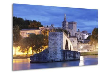 Bridge St. Benezet over Rhone River-Markus Lange-Metal Print