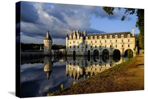 Castle of Chenonceau, Indre Et Loire-Nathalie Cuvelier-Stretched Canvas Print
