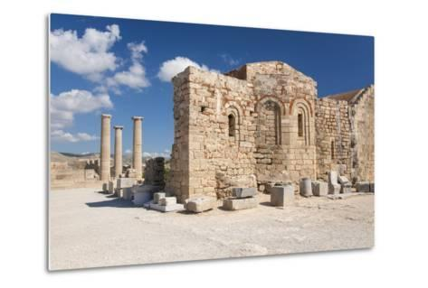 Remains of the Byzantine Church of Agios Ioannis on the Acropolis, South Aegean-Ruth Tomlinson-Metal Print