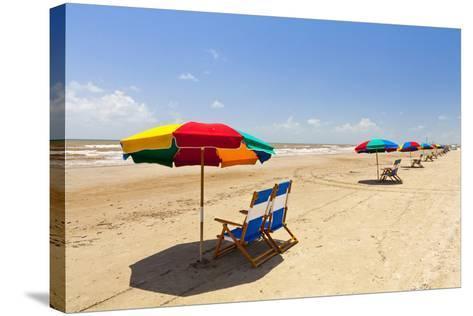 Stewart Beach, Galveston, Texas, United States of America, North America-Kav Dadfar-Stretched Canvas Print