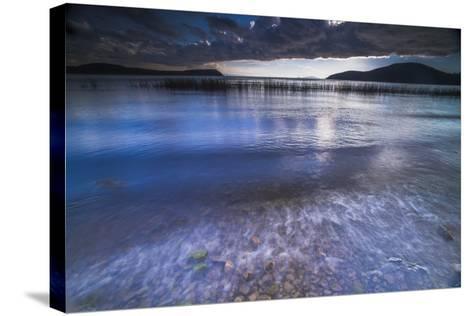 Stormy Lake Titicaca, Challapampa Village, Isla Del Sol (Island of the Sun), Bolivia, South America-Matthew Williams-Ellis-Stretched Canvas Print