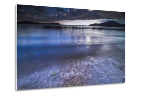 Stormy Lake Titicaca, Challapampa Village, Isla Del Sol (Island of the Sun), Bolivia, South America-Matthew Williams-Ellis-Metal Print
