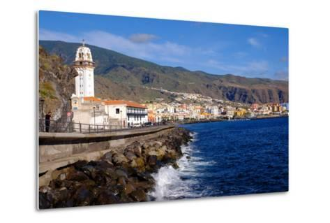 City of Candelaria in the Eastern Part of the Island of Tenerife, Canary Islands, Spain, Europe-Carlo Morucchio-Metal Print