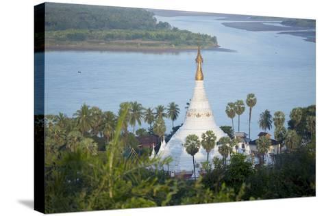 Views over the Thanlwin (Salween) River, Mawlamyine, Mon, Myanmar (Burma), Southeast Asia-Alex Robinson-Stretched Canvas Print