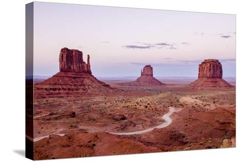 Monument Valley Navajo Tribal Park, Monument Valley, Utah, United States of America, North America-Michael DeFreitas-Stretched Canvas Print