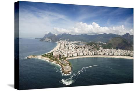 Aerial, Rio De Janeiro, Brazil, South America-Alex Robinson-Stretched Canvas Print