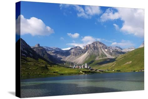 Tignes, Vanoise National Park, Savoie, Rhone Alpes, France, Europe-Christian Kober-Stretched Canvas Print