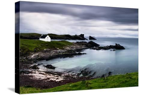 Clachtoll, Sutherland, Highland, Scotland, United Kingdom, Europe-Bill Ward-Stretched Canvas Print