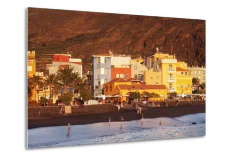 Playa Del Puerto Beach, Puerto De Tazacorte, La Palma, Canary Islands, Spain, Europe-Markus Lange-Metal Print