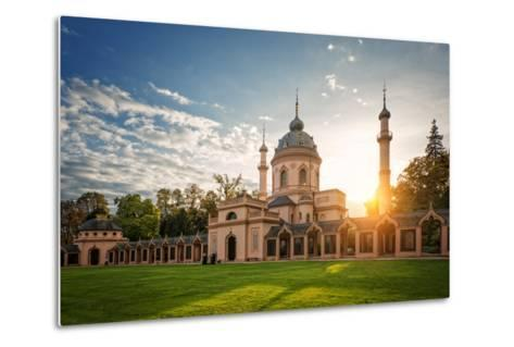 The Red Mosque, Schwetzingen, Baden-Wurttemberg, Germany, Europe-Andy Brandl-Metal Print