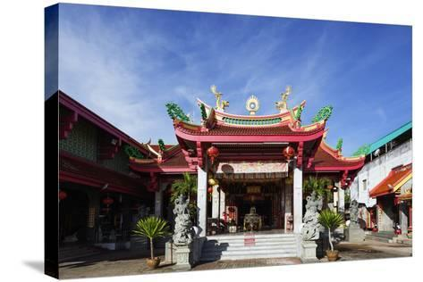 Chinese Temple, Phuket, Thailand, Southeast Asia, Asia-Christian Kober-Stretched Canvas Print