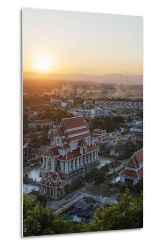 Wat Thammikaram Worawihan Temple, Prachuap Kiri Khan, Thailand, Southeast Asia, Asia-Christian Kober-Metal Print