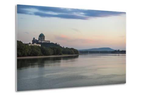 Esztergom Basilica, the Largest Cathedral in Hungary, Esztergom, Hungary, Europe-Michael Runkel-Metal Print