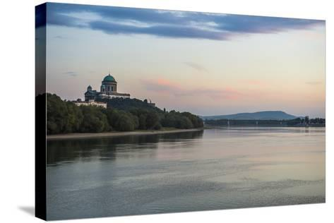 Esztergom Basilica, the Largest Cathedral in Hungary, Esztergom, Hungary, Europe-Michael Runkel-Stretched Canvas Print