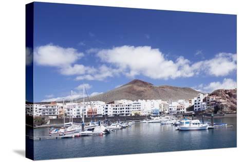 Sunset at South Coast Near La Restinga, El Hierro, Canary Islands, Spain, Atlantic-Markus Lange-Stretched Canvas Print