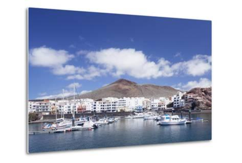 Sunset at South Coast Near La Restinga, El Hierro, Canary Islands, Spain, Atlantic-Markus Lange-Metal Print