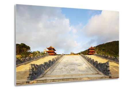 Thien Vien Truc Lam Ho Temple, Phu Quoc Island, Vietnam, Indochina, Southeast Asia, Asia-Christian Kober-Metal Print