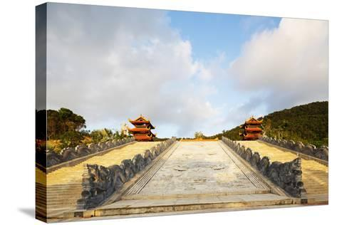 Thien Vien Truc Lam Ho Temple, Phu Quoc Island, Vietnam, Indochina, Southeast Asia, Asia-Christian Kober-Stretched Canvas Print