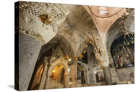 Chapel, Church of the Holy Sepulchre, Old City, Christian Quarter, Jerusalem, Middle East-Eleanor Scriven-Stretched Canvas Print