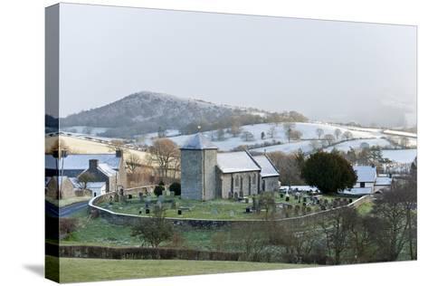 St. David's Church, Llanddewi'R Cwm, Powys, Wales, United Kingdom, Europe-Graham Lawrence-Stretched Canvas Print