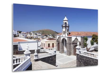 Iglesia Santa Maria De La Concepcion Church, Valverde, El Hierro, Canary Islands, Spain-Markus Lange-Metal Print