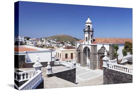 Iglesia Santa Maria De La Concepcion Church, Valverde, El Hierro, Canary Islands, Spain-Markus Lange-Stretched Canvas Print