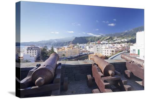 Castillo De La Virgen, Santa Cruz De La Palma, La Palma, Canary Islands, Spain, Atlantic, Europe-Markus Lange-Stretched Canvas Print