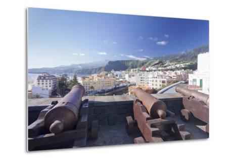 Castillo De La Virgen, Santa Cruz De La Palma, La Palma, Canary Islands, Spain, Atlantic, Europe-Markus Lange-Metal Print