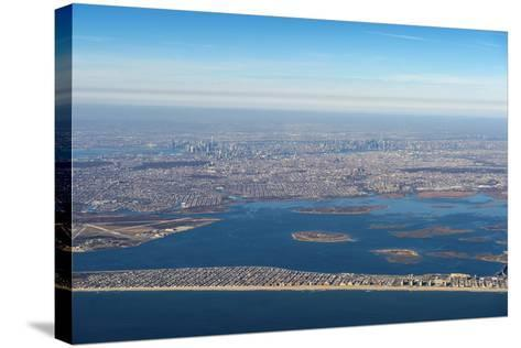 Aerial of New York, United States of America, North America-Michael Runkel-Stretched Canvas Print