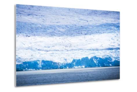 Grey Glacier (Glaciar Grey), Torres Del Paine National Park, Patagonia, Chile, South America-Matthew Williams-Ellis-Metal Print