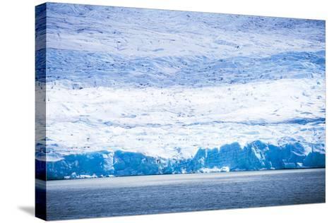 Grey Glacier (Glaciar Grey), Torres Del Paine National Park, Patagonia, Chile, South America-Matthew Williams-Ellis-Stretched Canvas Print