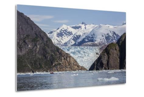 Scenic Views of the South Sawyer Glacier in Tracy Arm-Fords Terror Wilderness Area, Alaska-Michael Nolan-Metal Print