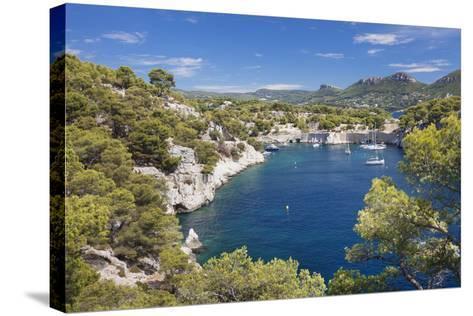 Les Calanques De Port-Miou, Southern France-Markus Lange-Stretched Canvas Print